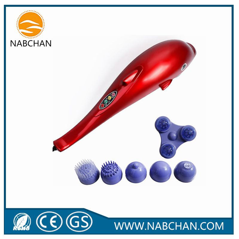 New infrared electric vibration massager whole body dolphin massage hammer