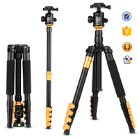 Q570A 158cm 15kg load JSTAR monopod tripod excel lightweight aluminum sinno zomei velbon camera tripod with panorama ball head