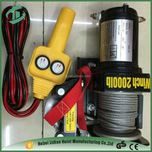 DC 12V 2000lb Wholesale and manufacturer atv winch uses winch supplies