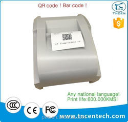 2inch 58mm POS cheap receipt Hot selling serial line Factory price high quality printer small gear type B white