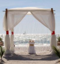 wedding canopy portable fabric backdrop wedding mandap pipe and drape