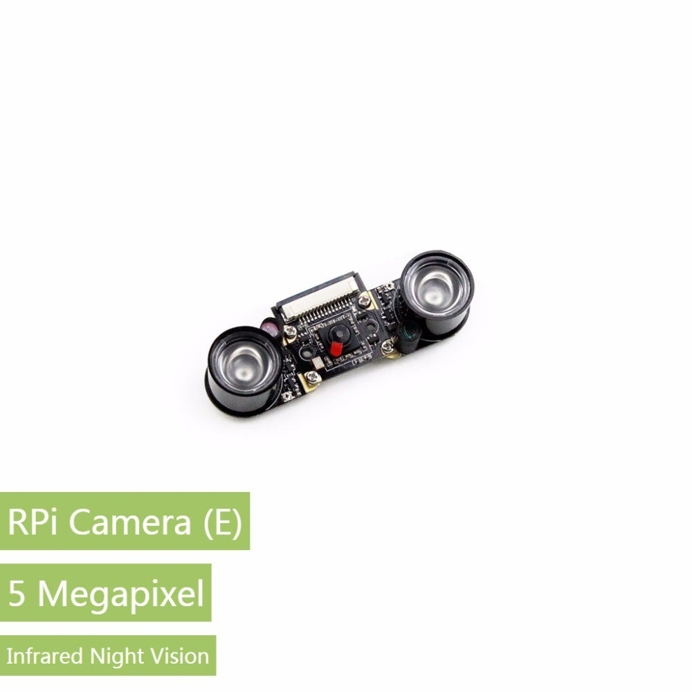 Raspberry Pi Camera (E) Night Vision Camera Module for all Version of Raspberry Pi Model 3 <strong>2</strong> B/ B+/ A+