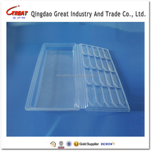 factory supply transparent disposable medical palstic tray