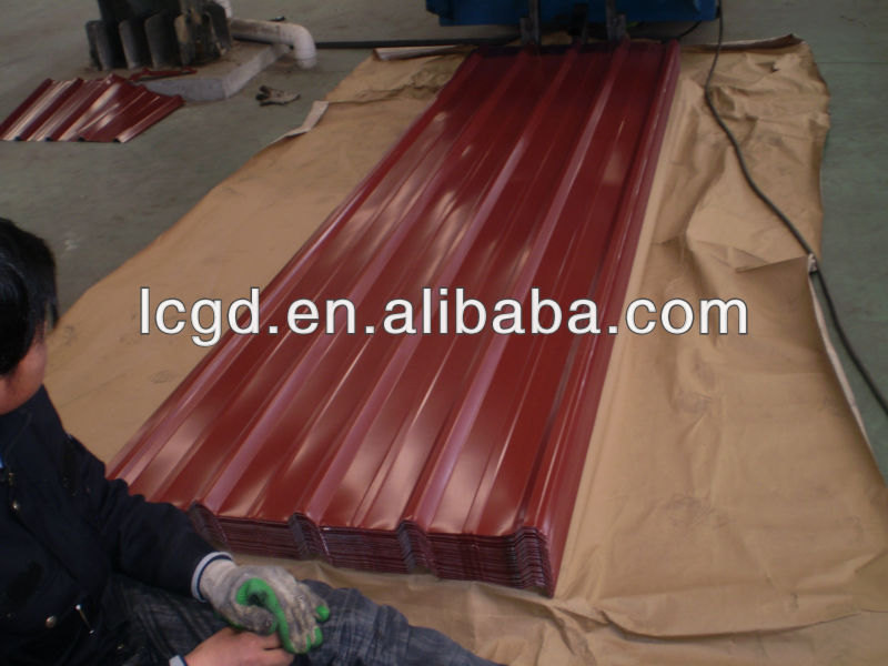 Prepainted Colorful Corrugated Steel Sheets