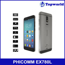 Made in China Cheap Phone 5.5inch Android 4.4.4 os Support Wifi Bluetooth 13MP Camera PHICOMM EX780L 4G LTE Smartphone