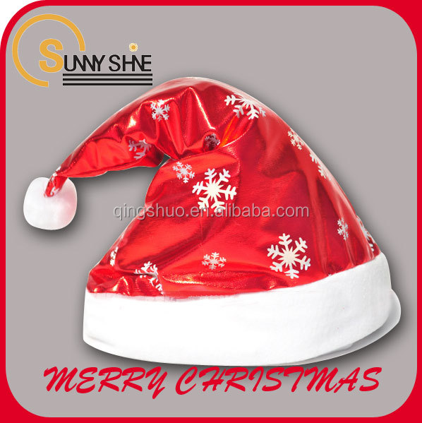 Cheap trendy christmas gifts 2016 christmas hats wholesale china