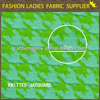 shaoxing knit jacquard100% fr polyester fabric polyester fabric for sail bags