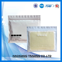 white plastic bag with zipper from china supplier