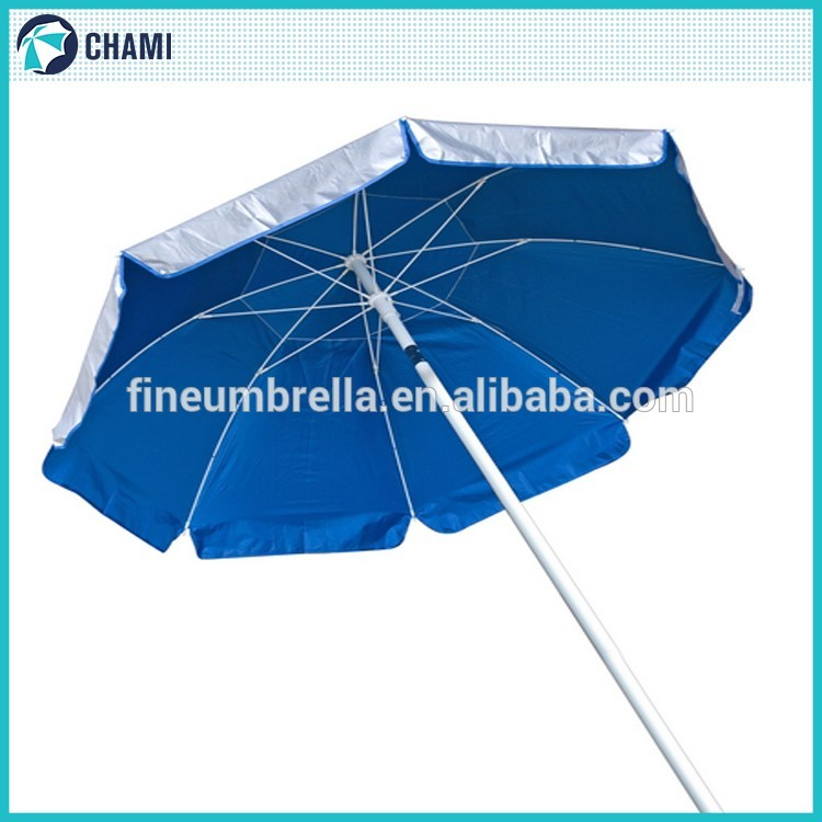 New model new design anti uv professional beach umbrella