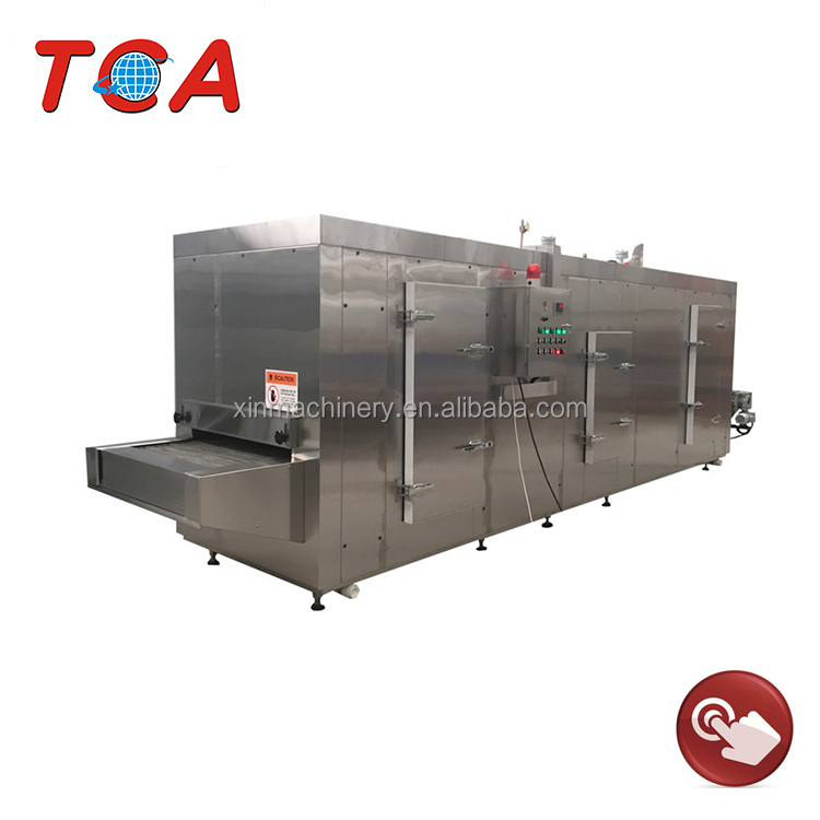 Customizable stainless steel chicken fast freezing machine