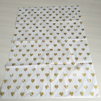 Custom Logo Printed Tissue Paper, 17gsm Moistureproof Personalized Silk Paper for Clothes Wrapping