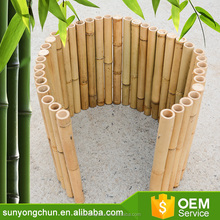Good quality outdoor garden low bamboo border & edging fence