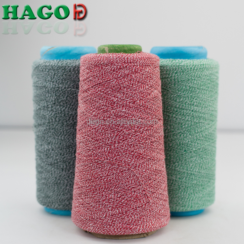 OE recycled blended weaving knitting colored yarn for hammock