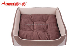 Indoor Comfortable Burger Bun cheap dog bed with removable cushion