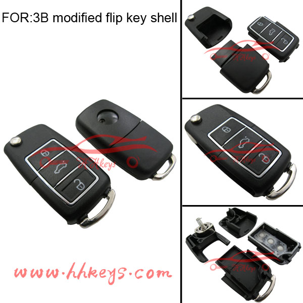 Best price for VW golf remote key 3 button Modified remote key shell