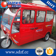 Good quality china gasoline conversion motor tricycle van