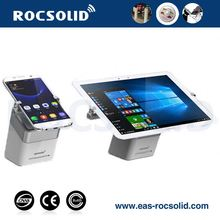 Retail anti-theft display device, Mobile phone displays, Display stands with alarm security for mobile phone