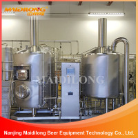Stainless fresh beer brewery equipment, carft making beer machine