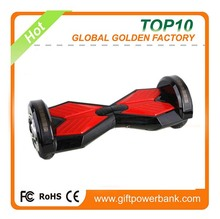 "2016 Hot selling 8"" 2 wheel self balancing scooter, stand up electric smart drifting scooter with Bluetooth Speaker, LED light"