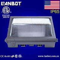 Hot products for Canada Outdoor 70w led wall pack tunnel light China supplier UL ETL FCC