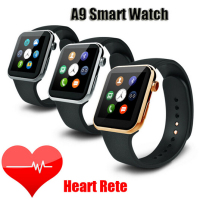 Promotional high end heart rate monitor a9 smart watch