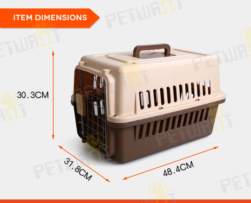 PP material cheap dog crates cage portable pet kennel