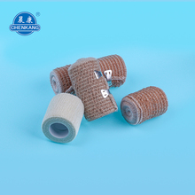 Widely Used tattoo grip adhesive elastic bandage strong fabric cotton cohesive