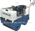 WKR600 steering mini road roller compactor hydraulic drive by Japan pump