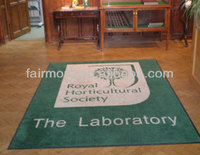 Commercial Carpet Outdoor Rubber Backed, Logo Mat,