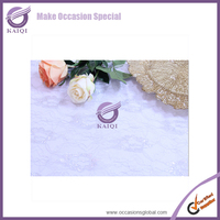 #16230 lace elegant wedding table linens
