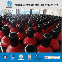 High Pressure Industrial Seamless Steel Cl2 Gas Cylinder ISO9809