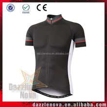 Sublimation printed custom attractive designs cycling jersey and shorts
