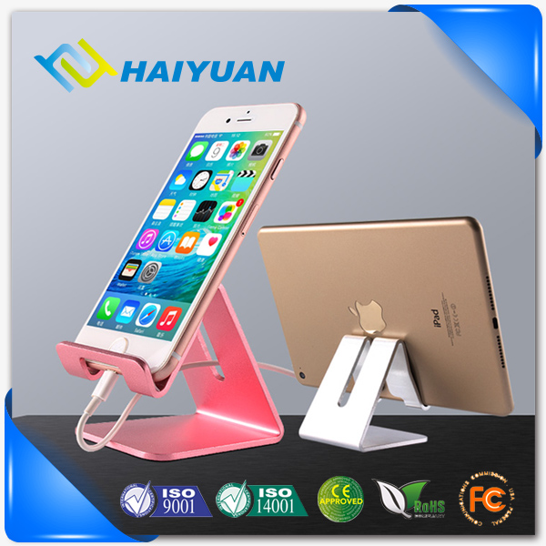 Metal universal multi function desk mobile phone stand holder