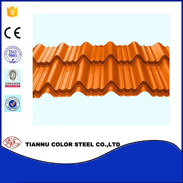 High Quality Colored Galvanized Steel Roof Tile