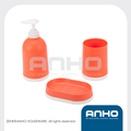 Plastic bathroom set in competitive price and high quality