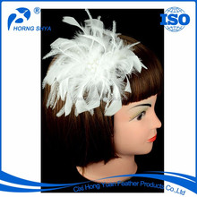 Factory Wholesale Professional Cheap High Quality Bridal Make Feather Fascinator