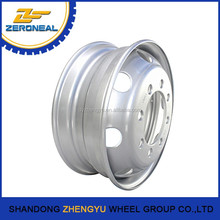 Hot selling white spoke truck wheels