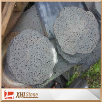 Irregular Natural Basalt Lava Stone Volcanic Rock For Sale