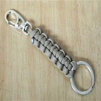 Paracord Lanyard Key Chain Handmade paracord braid keychain