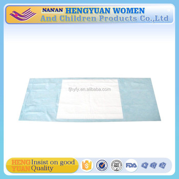 Medical used ultra thin high absorption under pads