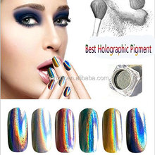 holographic pigment for nail polish/ shinning hologra pigment use for nail/