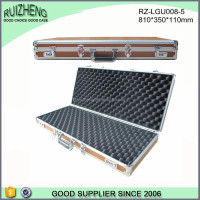 Sturdy Long hard leather cases for rifle