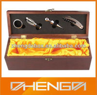 High Quality Customized Made-In-China Aluminum Wine Tool Box For Holding The Tools For Packaging(ZDW12-I040)