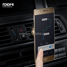 Roidmi New product Magnetic Metal Car flexible Phone Holder for mobile phone
