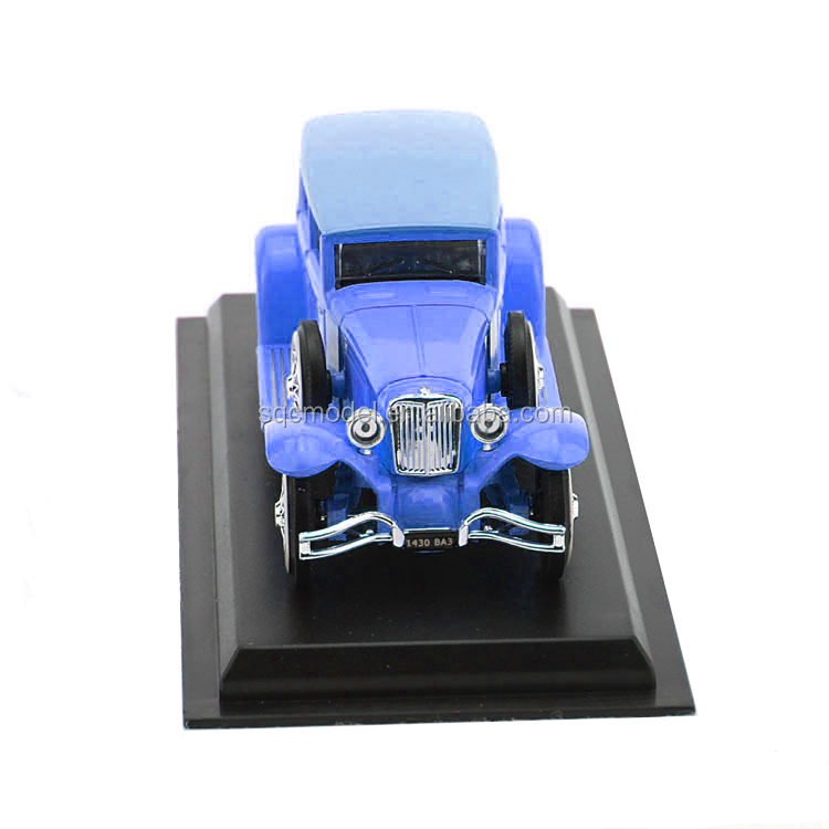 New brand 2016 die cast old model car 1:24 model car on stock of China National Standard