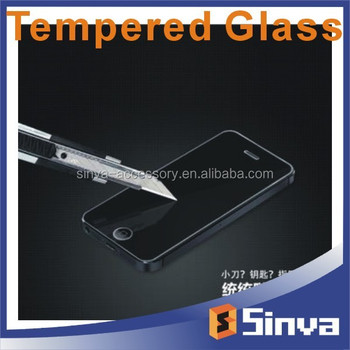 Full coverage colorful mirror tempered glass Screen Protector for iphone6 In stock