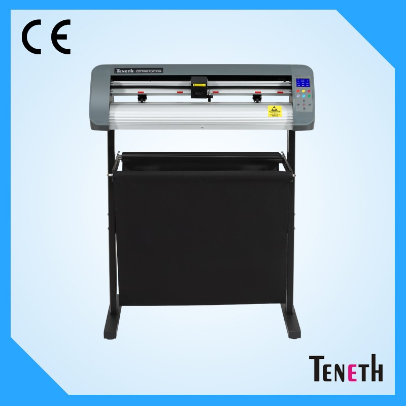Teneth Print and cut vinyl cutter plotter with contour cut function