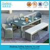 Patio Furniture Clearance Outdoor Dining Table And Outdoor Benches Sale