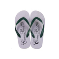 Custom White Flip Flops Slipper