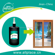 UV lamp curing uv release adhesive for sliding glass door